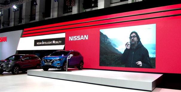 Stand Nissan Automobile Barcellona 2017 Eikonos