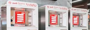 Zytronic convierte las máquinas de autoservicio del transporte de Moscú en sistemas visuales táctiles