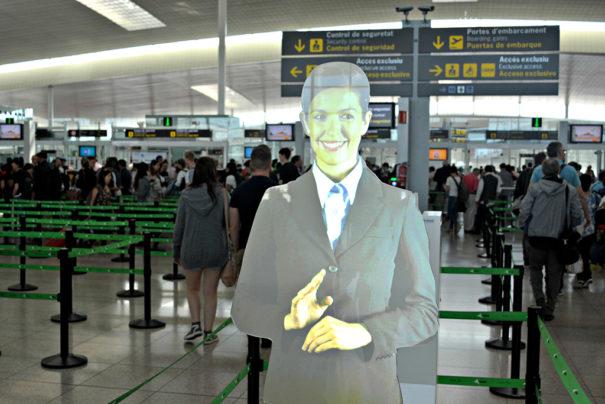 Asistente Virtual aeropuerto El Prat