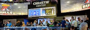 "Christie closes its passage by InfoComm 2017 ""providing creative solutions never before possible"""