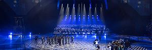 ClayPaky ilumina la obra Niebo, que pone el cierre a Breslavia como Capital Europea de la Cultura