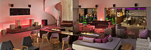 El Hotel ME Cabo San Lucas personaliza la sonorización de sus estancias con d&b audiotechnik