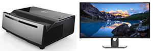 """Dell presenta un proyector láser 4K UHD de alto brillo y un monitor curvo panorámico de 38"""""""