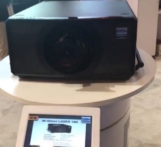 Digital projection M-vision laser 18k infocomm2017