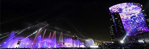 El Dubai Festival City consigue su segundo Guinness con la proyección 'El sueño de un niño'
