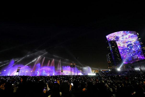 Dubai Festival City Panasonic y Laservision
