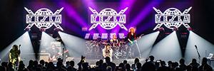 La gira norteamericana de la banda de rock Tesla utiliza la tecnología de Elation para sus actuaciones