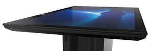 Ideum Redesigns 4K UHD touch table large format Colossus