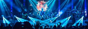 Robe ilumina las actuaciones de Love of Lesbian en su gira 'Halley 2017'