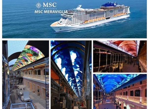 MSC Cruceros Meraviglia Videlio