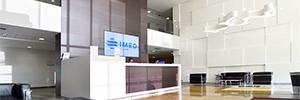 IMED Hospitales amplía su red de cartelería digital a los centros de Valencia y Torrevieja