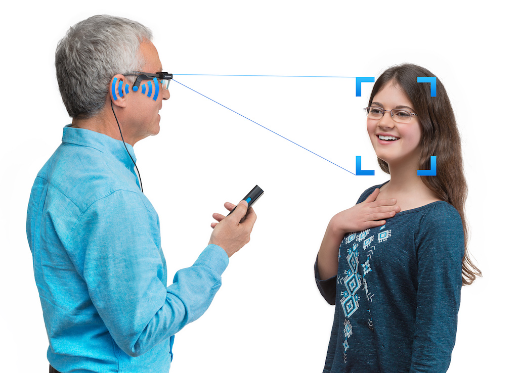 Orcam Myeye Helps To Read People With Visual Problems With