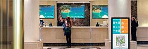 Panasonic amplía su oferta de digital signage con versiones ShadowSense de las pantallas AF1 y LF80