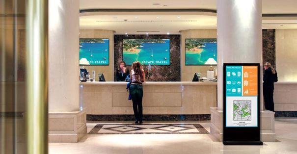 Panasonic Interactive Signage - Hotel