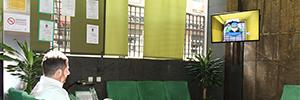 Fraternidad-Muprespa lleva su red de digital signage a más de cien centros asistenciales