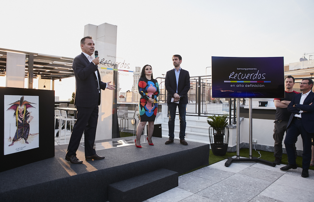 dd3e5be3 Samsung QLED TV revive en alta definición y color los recuerdos televisivos  de los españoles