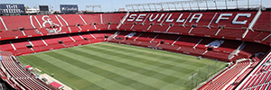 Philips Lighting will install the new Led lighting of the stadium of Sevilla FC