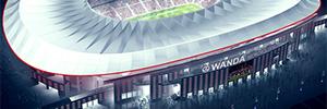 El Wanda Metropolitano contará con las soluciones de digital signage e IPTV de Tripleplay