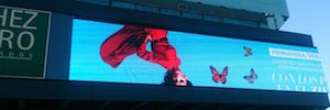 Zielo is visually renewed with a large format / 7000 nits of brightness outdoor Led screen