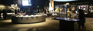 Zytronic and Ideum bring interactivity to the new exhibition at the Museum of Air and Space Smithsonian