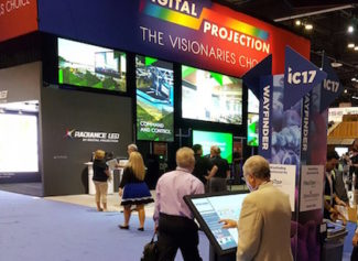 digital projection infocomm2017