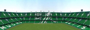 Real Betis Stadium joins the efficient Philips Lighting Led lighting