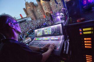 Audio Technica y Allen Healt Bryan Ferry (Foto: Lee Wilkinson)