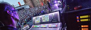 Audio-Technica y Allen & Heath ayudan a sonorizar las actuaciones de Bryan Ferry