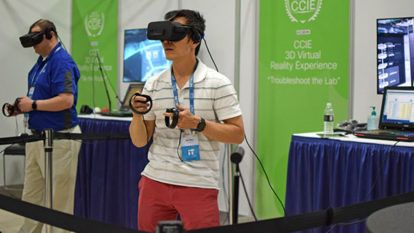 Cisco y Vrmada CCIE Virtual Reality Experience