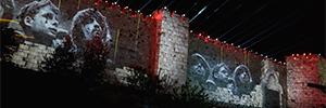 Jerusalén celebra el 50 aniversario de la reunificación de la ciudad con una espectacular proyección