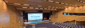 El Palacio de Congresos de Valencia renueva su equipamiento AV con Mark, Work Pro y ChamSys