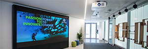 Bayer installed at its headquarters in London an AV infrastructure that fosters collaboration and communication