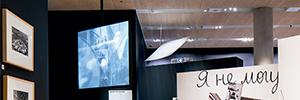Hitachi dio vida a la exposición 'Imagine Moscow' del Museo del Diseño de Londres