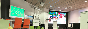 Charmex displays the latest AV solutions for the education sector in its showroom in Barcelona