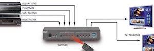 Marmitek MegaView 90: extensor HDMI para transmitir la señal a varias pantallas con un solo cable CAT5