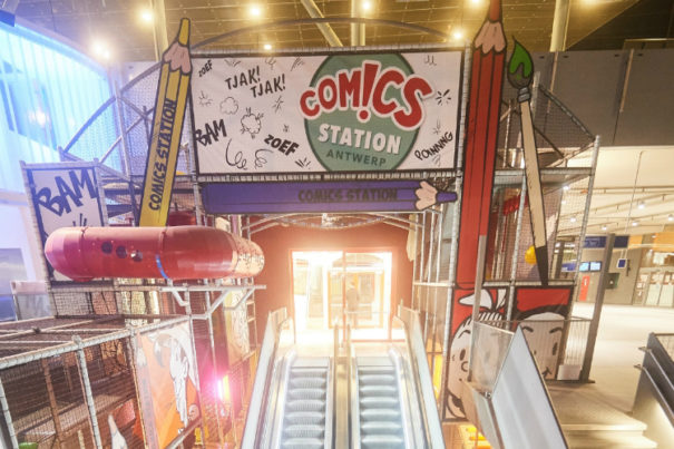 Panasonic Comics Station Antwerp