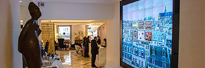 RealMotion drives the contents of Immersive videowall Hotel Sofitel Baltimore Paris