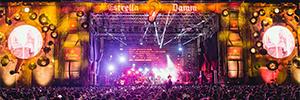 Cruïlla Festival contó con más de 125 metros cuadrados de pantalla Led en sus escenarios
