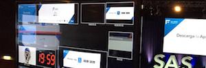 Sono realiza una proyección de más de 60 m2 y blending para el evento SAS Forum 2017