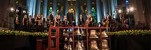 Sono proporcionó los sistemas de sonorización para el concierto de carrillón celebrado en la Sagrada Familia