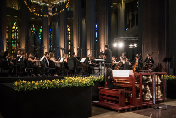 Sono concierto carrillon Sagrada Familia