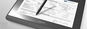 Wacom DTH-1152: monitor multitáctil interactivo para la consulta y firma de documentos electrónicos