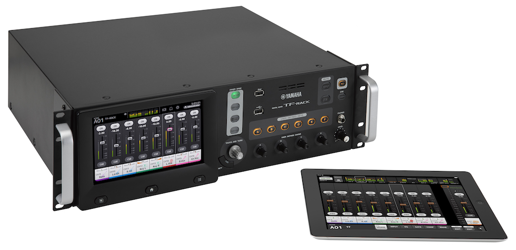 yamaha tf rack digital mixer for small spaces and rackmount. Black Bedroom Furniture Sets. Home Design Ideas