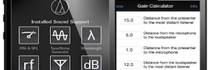 Audio-Technica presenta la nueva versión de Installed Sound Support con módulos y gráficos mejorados