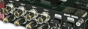 Allen & Heath: firmware 1.51 para dLive con soporte para la nueva tarjeta SuperMADI