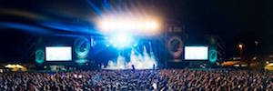 Arenal Sound 2018 has to equip its four scenarios with Fluge Audiovisual