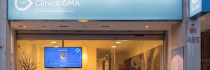 Netipbox digitizes and displays a communication channel in the GMA Clinic