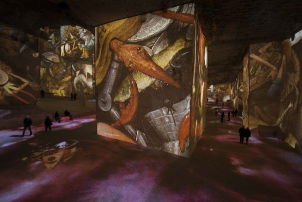 Culturespaces carrieres des lumieres Barco