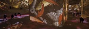 La proyección láser sumerge a los visitantes en el mundo pictórico de Bosch, Brueghel y Arcimboldo