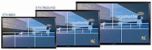 Las nuevas pantallas táctiles Led de gran formato de Legamaster empiezan a sustituir a las PDi